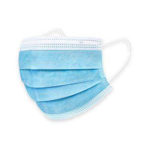 Medizinische Mund-Nasenschutzmaske (MNS), OP-Maske, 3-lagig (Maskenaktion Euro 2020)