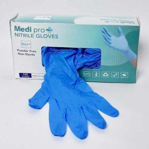 Nitril-Handschuhe, blau, Einweghandschuhe